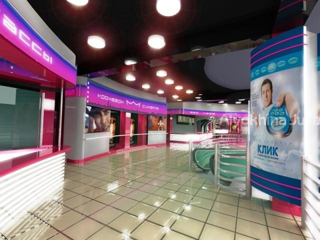 Холл кинотеатра 34